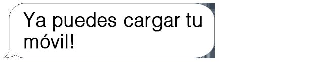 Bocadillo cargador inalámbrico respuesta
