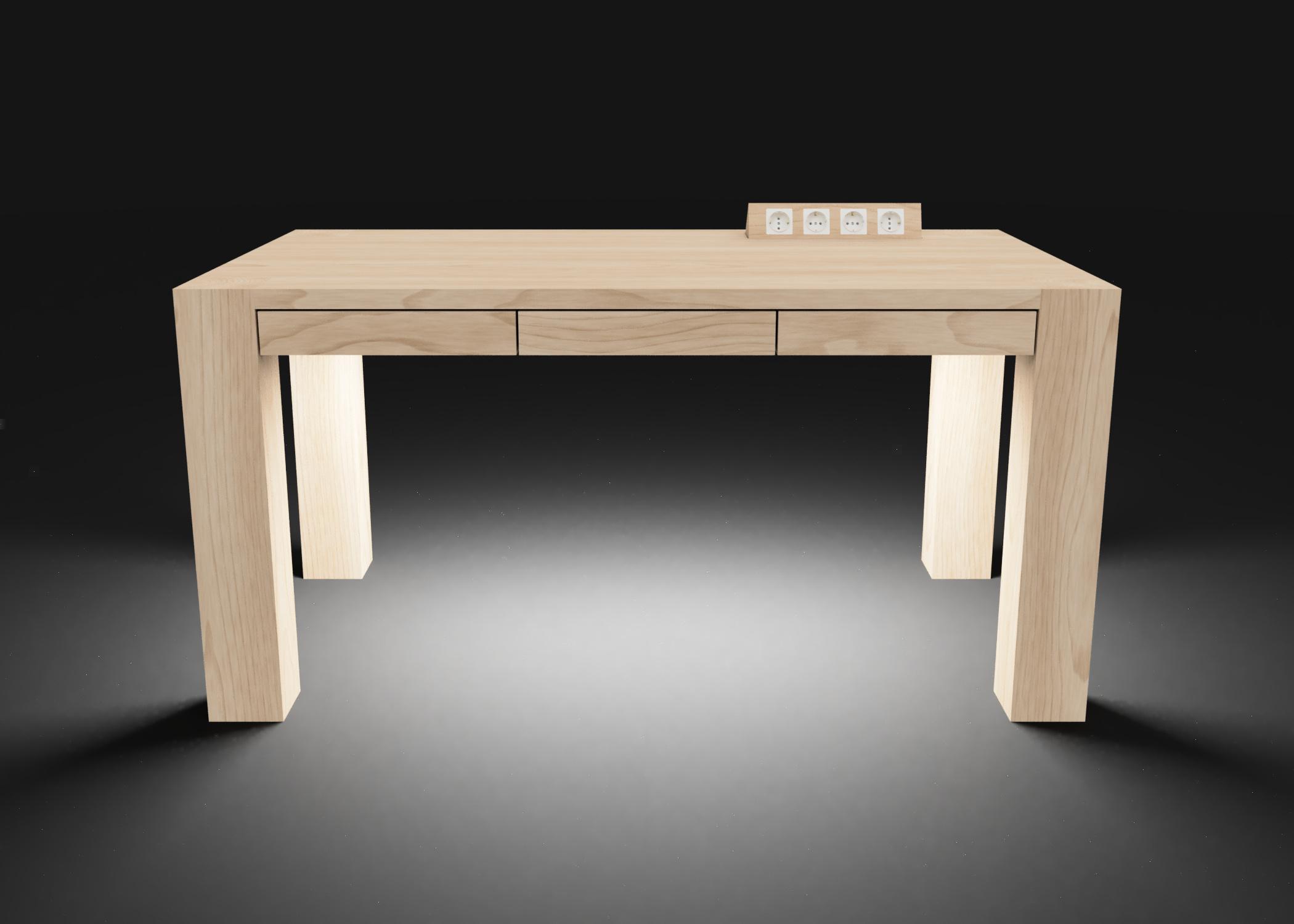Mesa modelo Genius Luz blanca