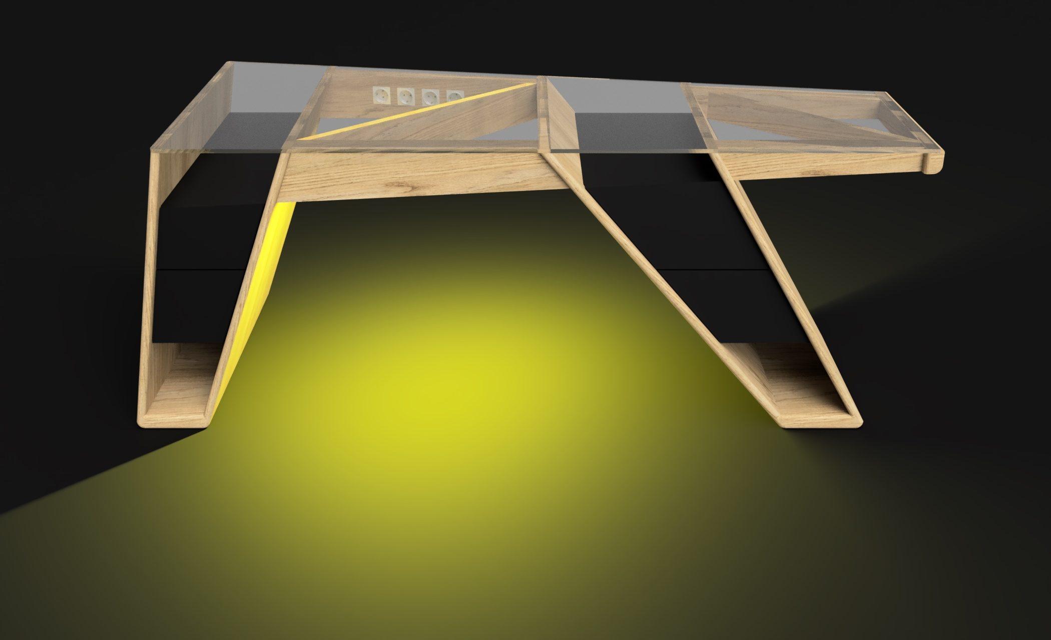 Mesa modelo Klemm frame 0