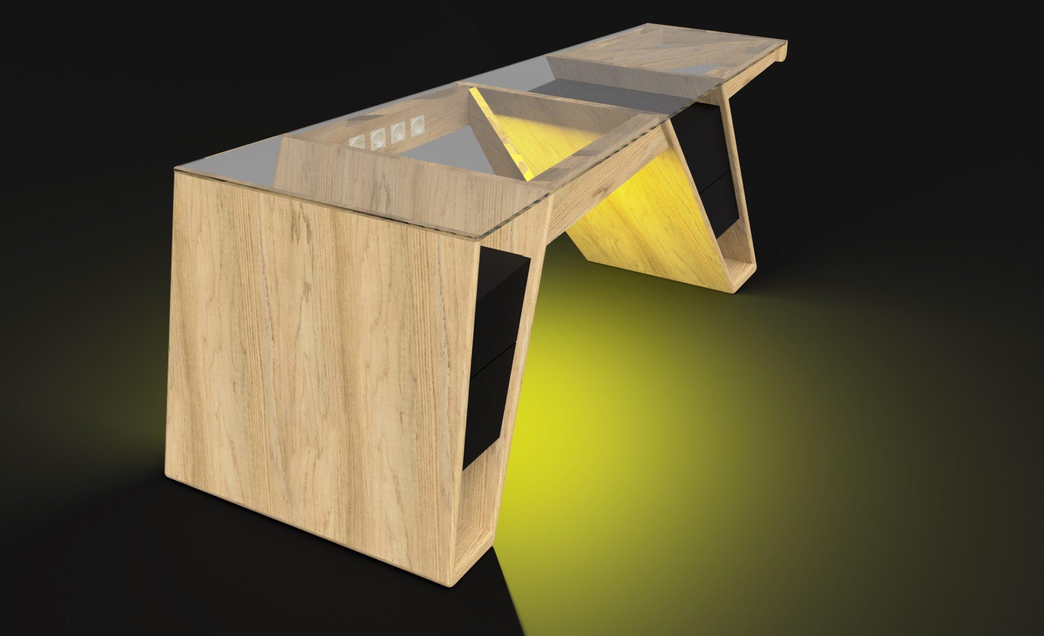 Mesa modelo Klemm frame 1