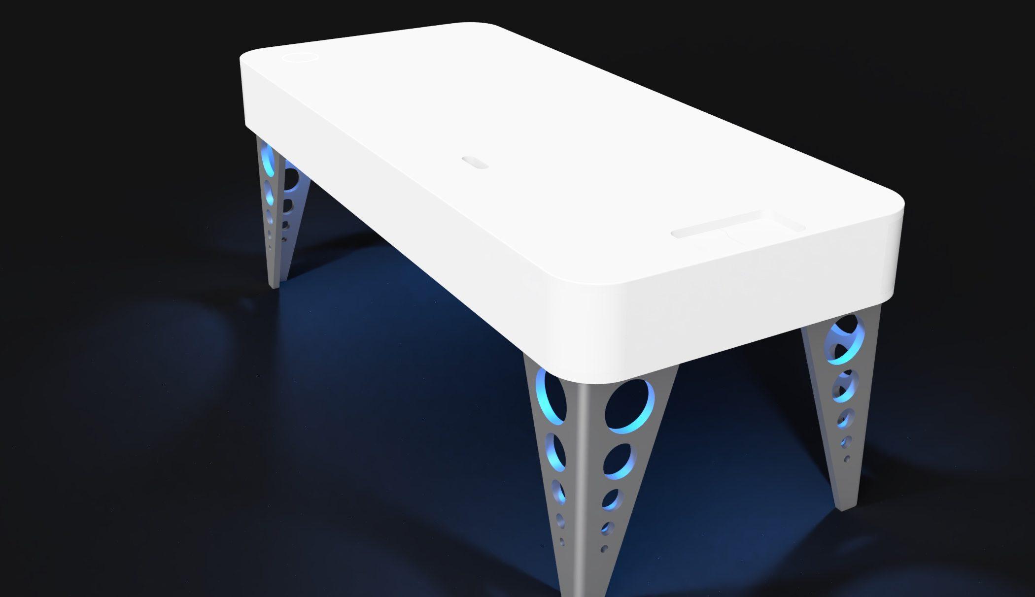 Mesa modelo Arion frame 2