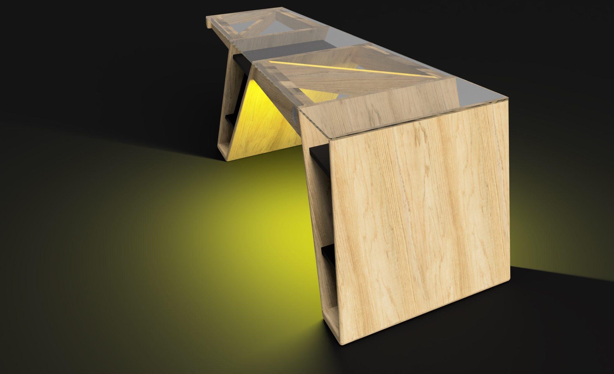 Mesa modelo Klemm frame 2