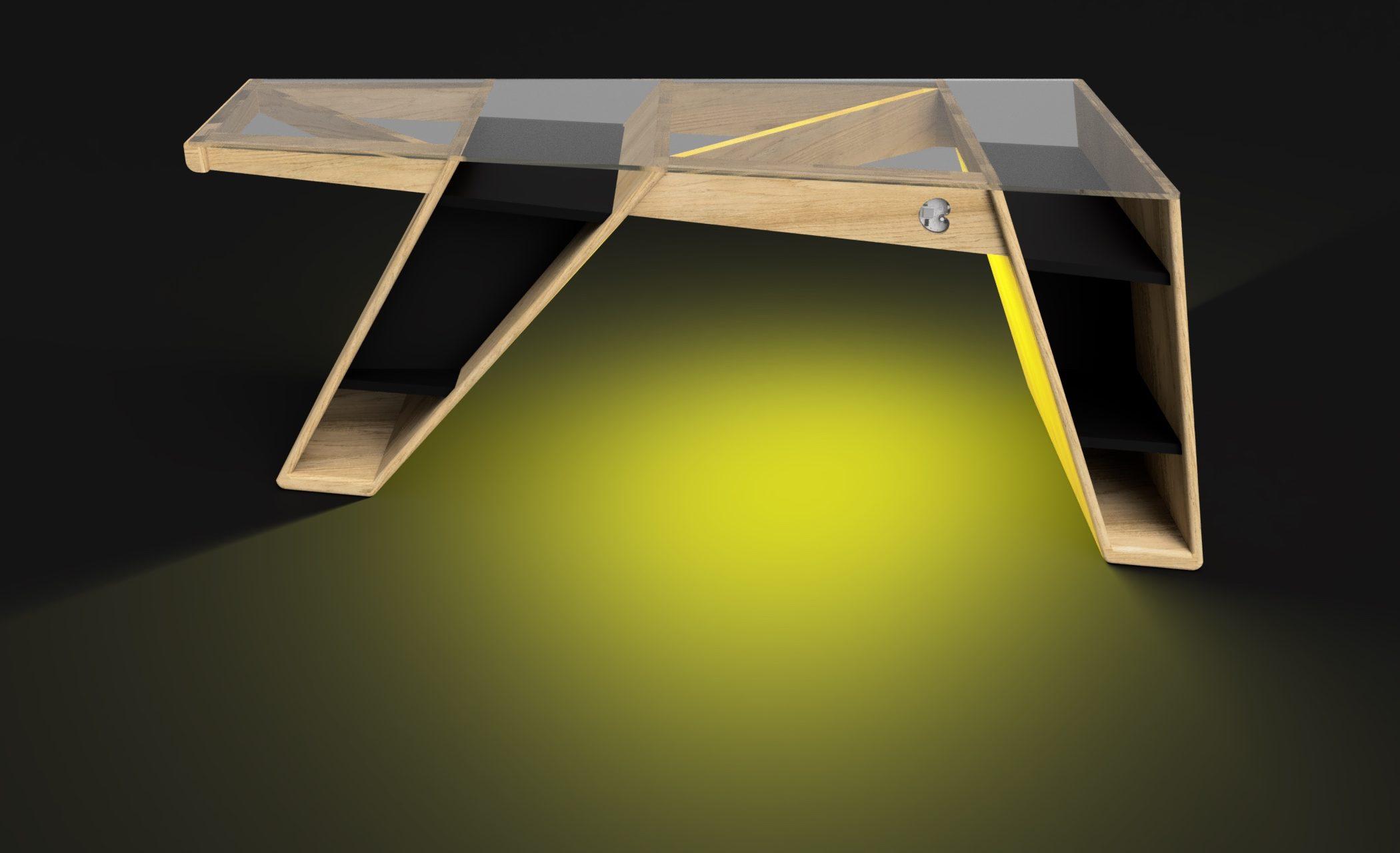 Mesa modelo Klemm frame 3