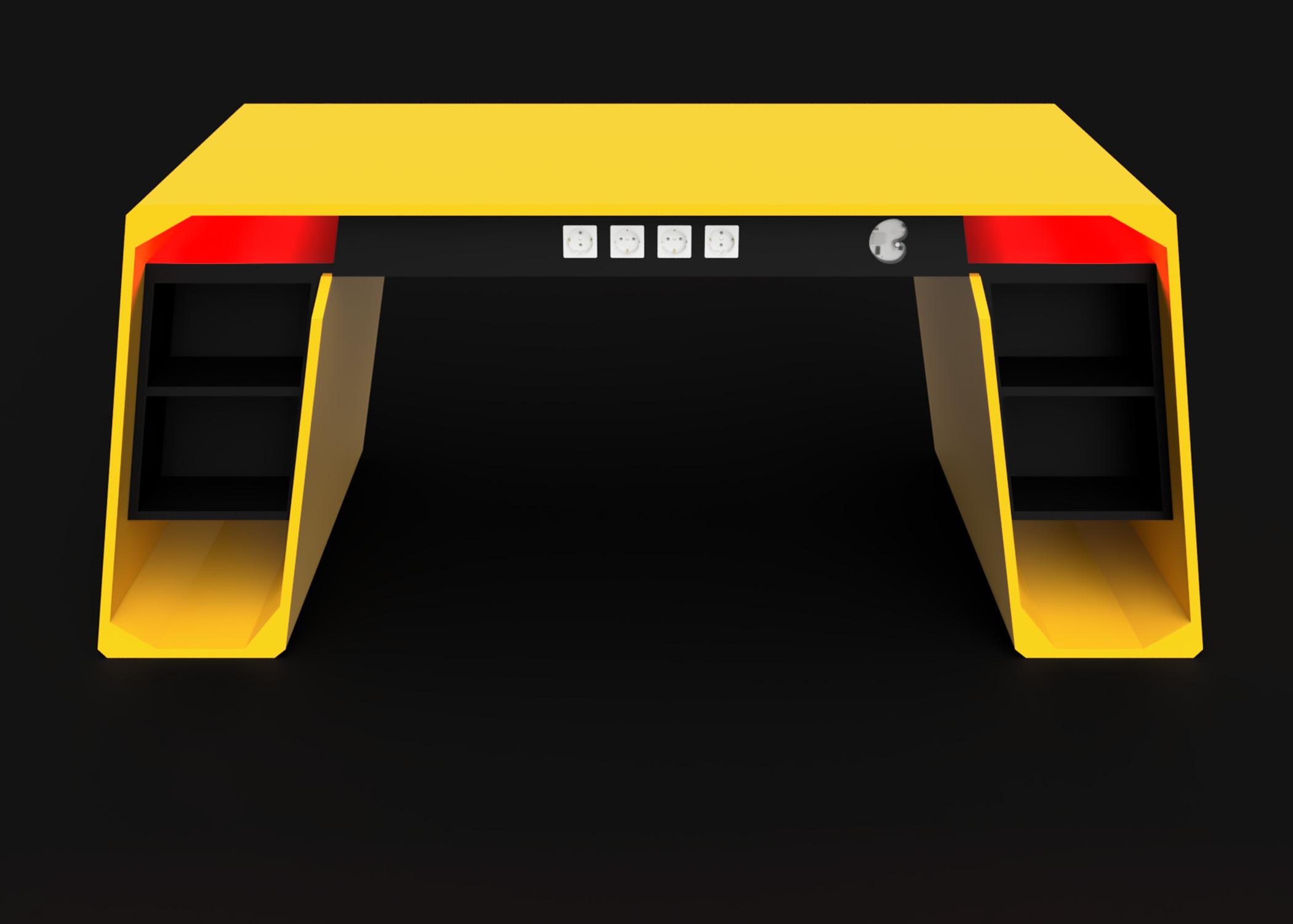 Mesa modelo Lambo frame 3