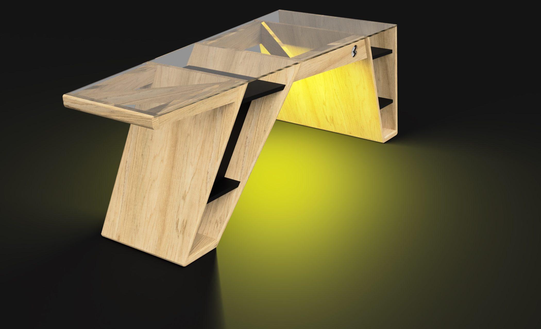 Mesa modelo Klemm frame 4
