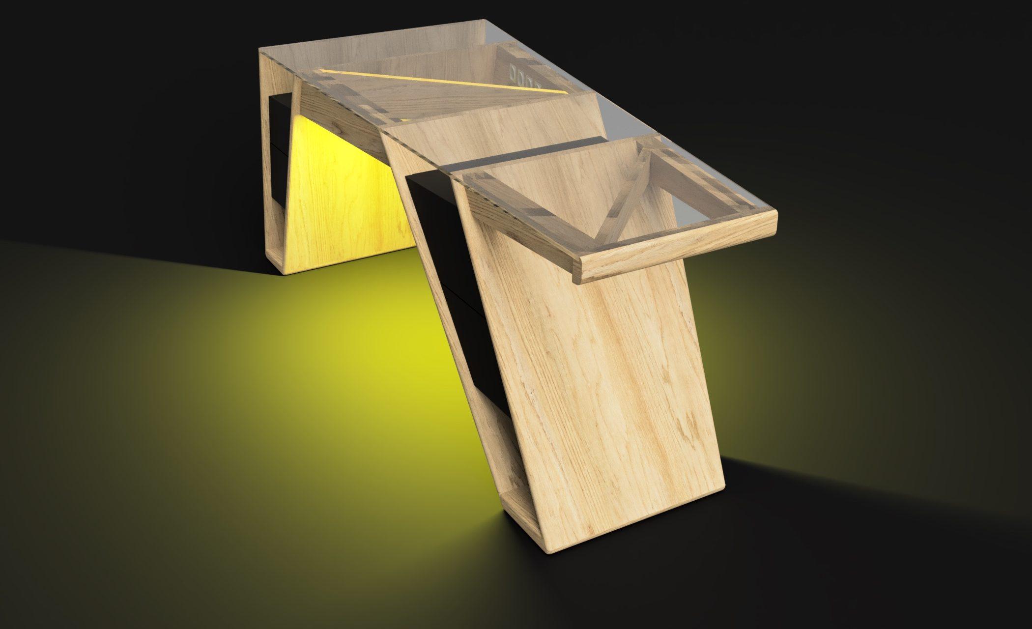 Mesa modelo Klemm frame 5